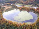 Создание трехмерной модели котловины озера