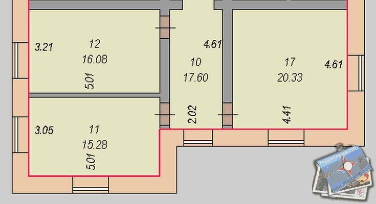 Создание плана помещений в ГИС Карта