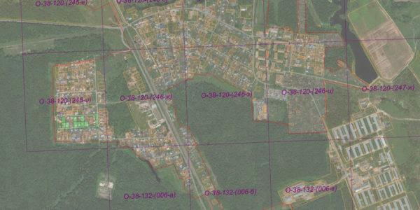 Государственная разграфка М1:2000