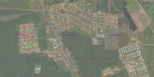 Местная разграфка М1:2000