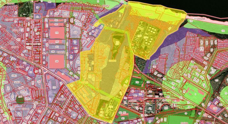 Кадастровый план территории 11 версии