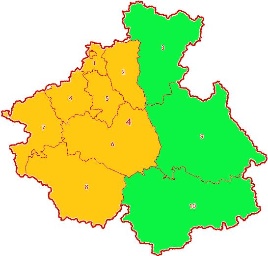 Зоны МСК-04 территории Республики Алтай