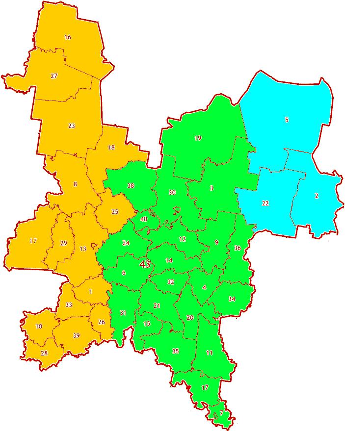 Зоны МСК-12 на территорию Кировской области