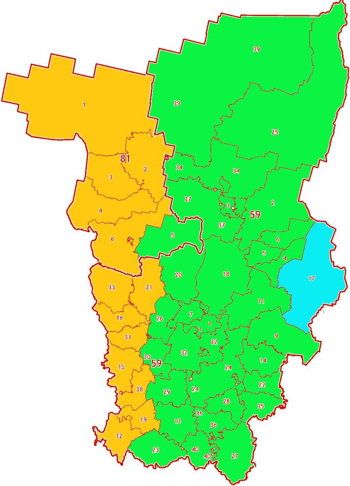 Зоны МСК-59 на территорию Пермского края и Коми-Пермяцкого автономного округа