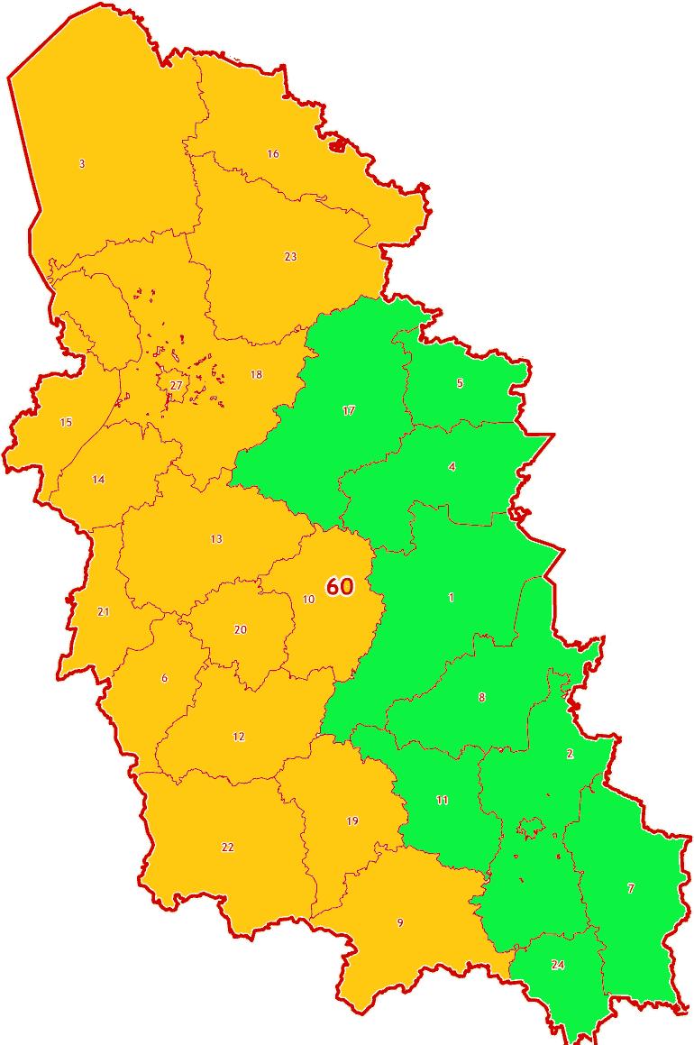 Зоны МСК-60 на территорию Псковской области