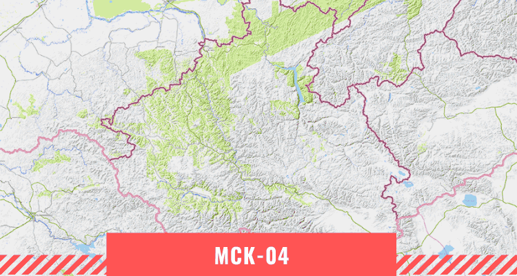 Карта Республики Алтай