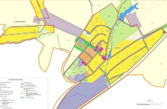 Генеральный план и ПЗЗ поселения