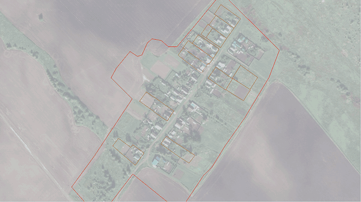 Границы населенного пункта