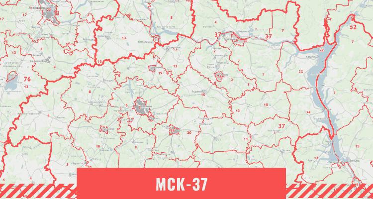 Кадастровая карта Ивановской области