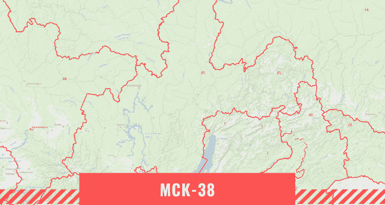 Кадастровая карта Иркутской области