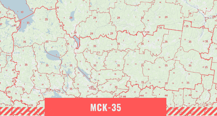 Кадастровая карта Вологодской области