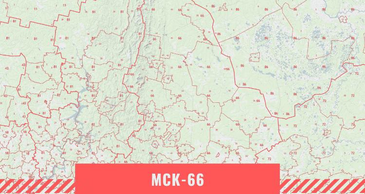Кадастровая карта Свердловской области