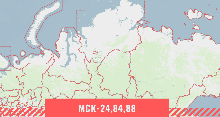 Кадастровая карта Красноярского края